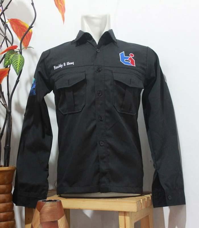 Contoh Produk Baju Organisasi Lengan Panjang - Ti