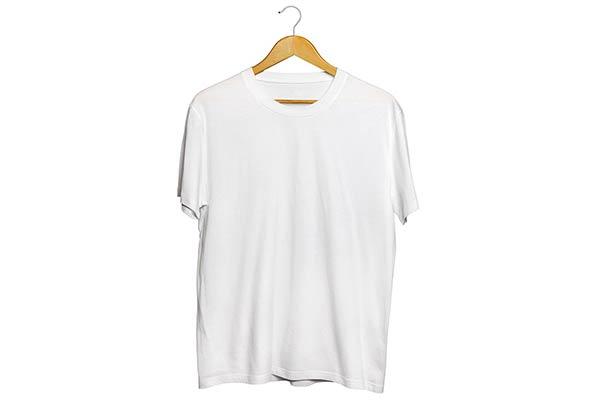 Kaos Oblong Warna Putih