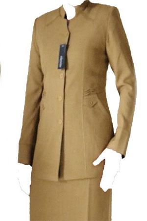 Desain Baju Dinas PDH Wanita Warna Khaki