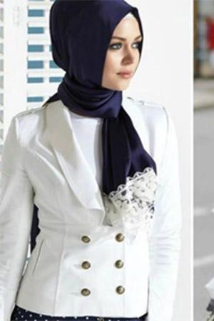 Desain Seragam Kerja Wanita Berjilbab - heejab.co.id