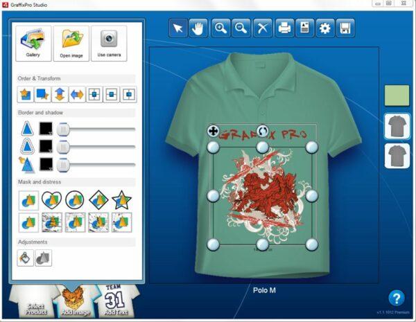 GraffixPro Studio - Aplikasi Desain Baju PC Berbayar