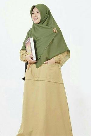 Model Baju Dinas Guru Wanita