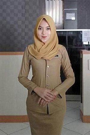 Model Baju Dinas PDH Wanita Terbaru - Pinterest