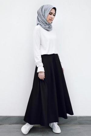 Model Baju Dinas Putih Wanita Berhijab - Hipwee