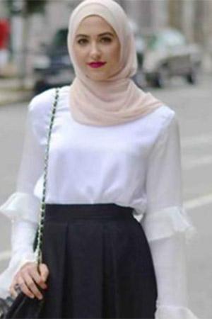 Model Baju Kerja Kekinian Untuk Wanita Muslimah - heejab.co.id