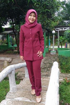 model baju dinas guru wanita terbaru