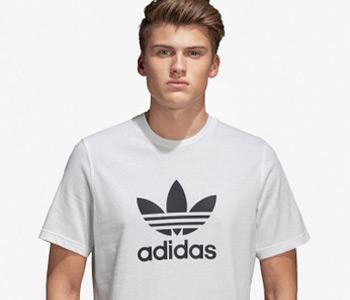 Kaos Oblong Merk Adidas