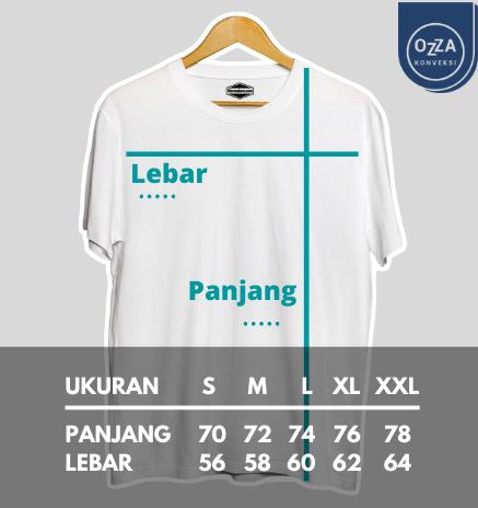Size Chart Kaos Oversize