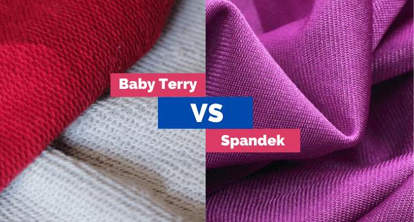 Perbedaan Bahan Spandek dan Babyterry