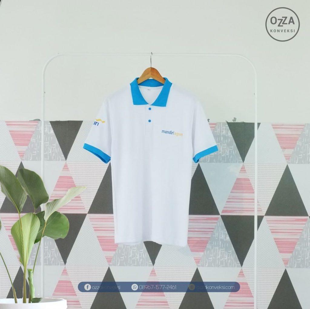 Kaos Polo Bank Mandiri
