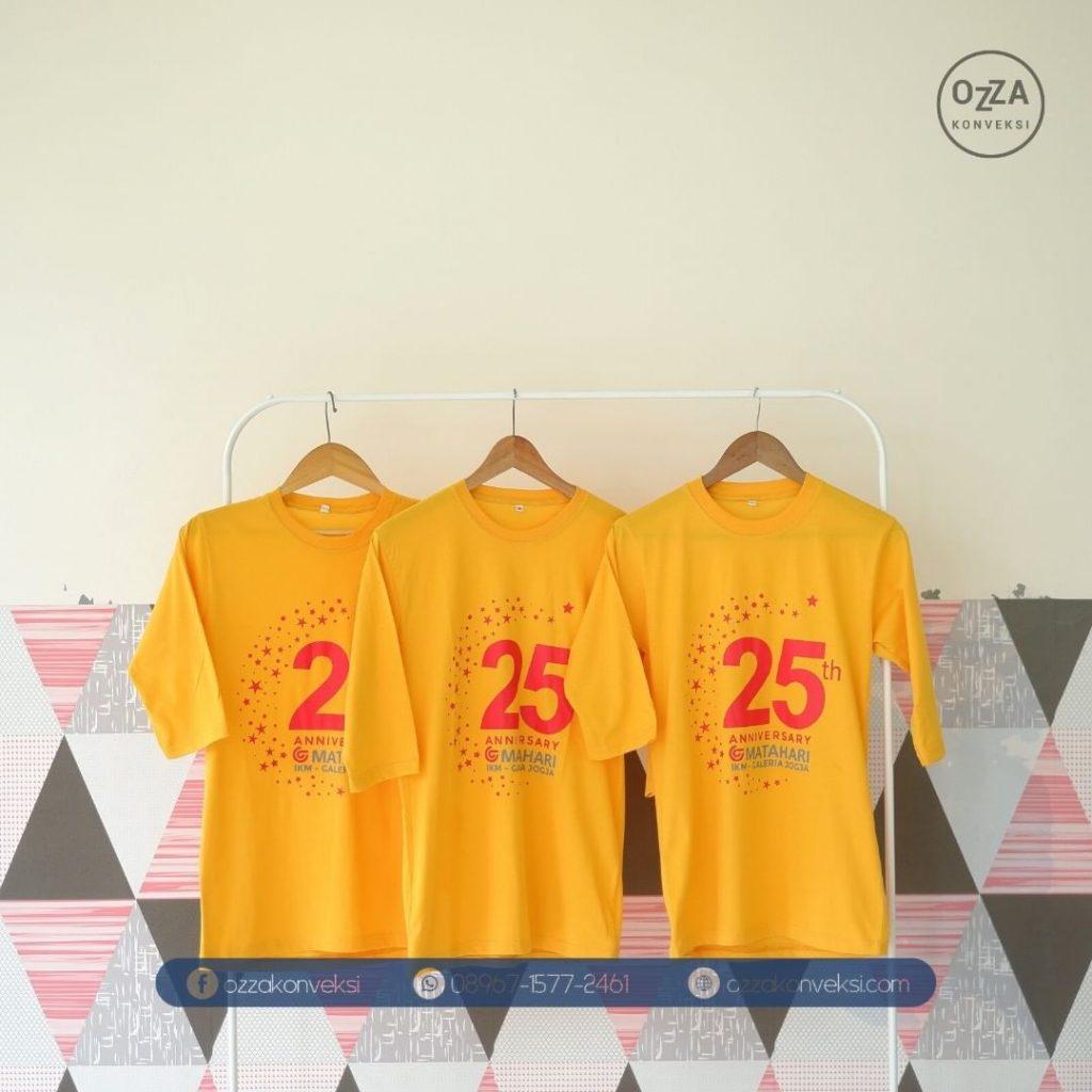 Kaos Promosi Brand Matahari